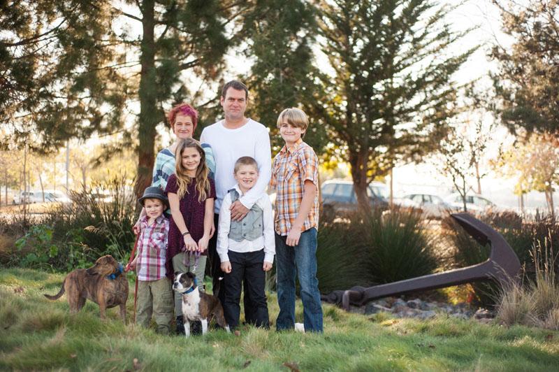 Family photos in Oakland