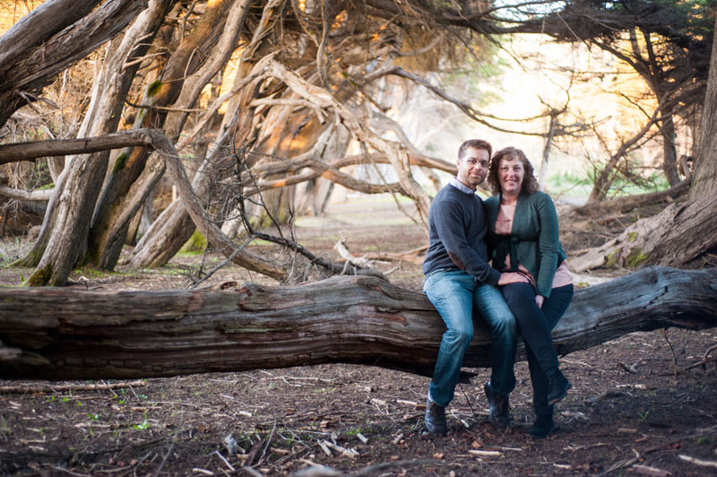 Day after session with couple in Sea Ranch, CA