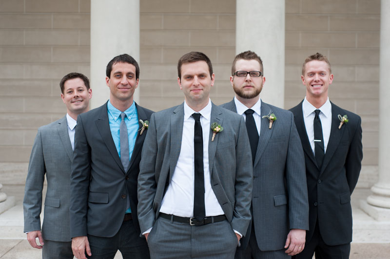 Groom with groomsmen in San Francisco