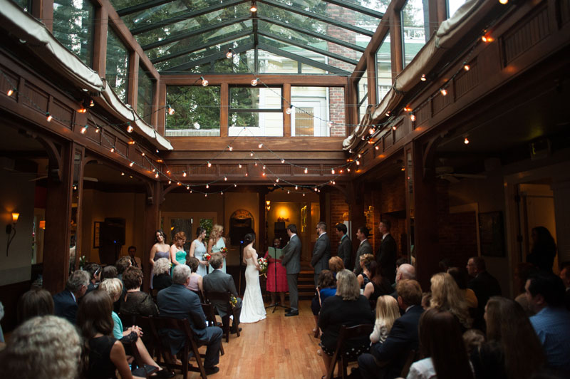 Wedding at the Tavern at Lark Creek