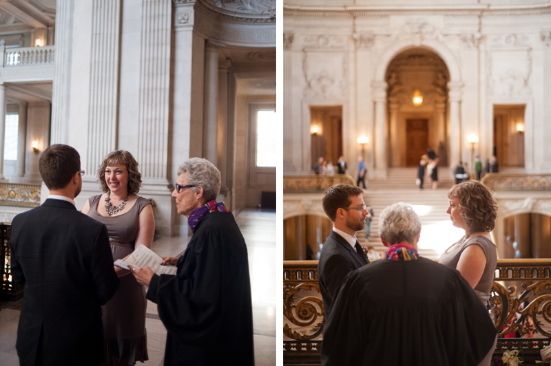 Wedding at San Francisco City Hall