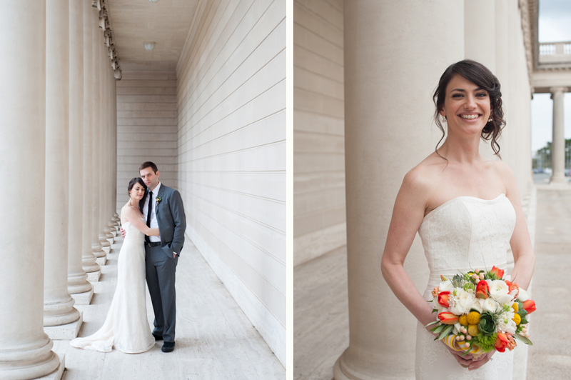 Wedding photos in San Francisco at The Legion of Honor