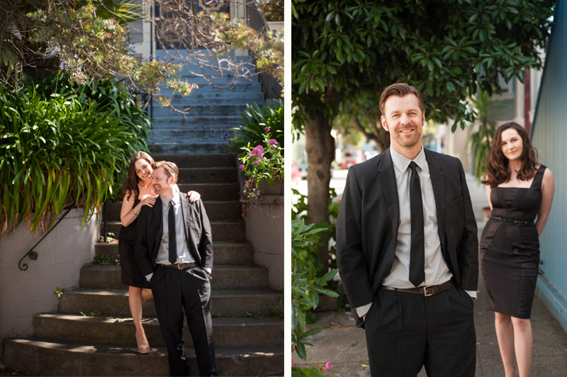 Engagement session photos in San Francisco