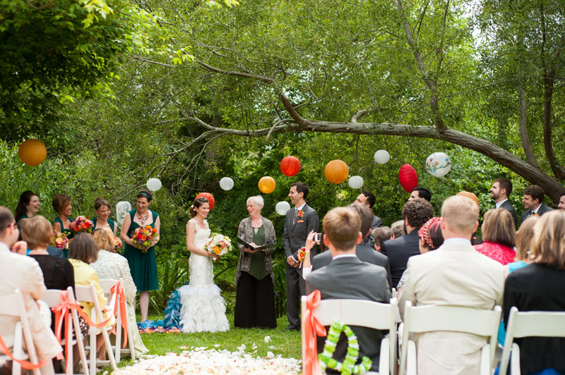 Wedding at the Point Reyes Seashore Lodge