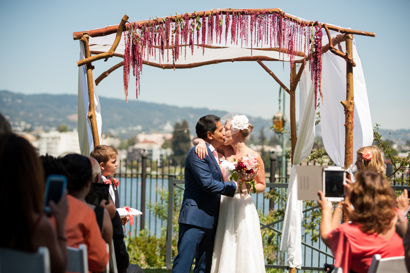 Wedding at Lake Merritt