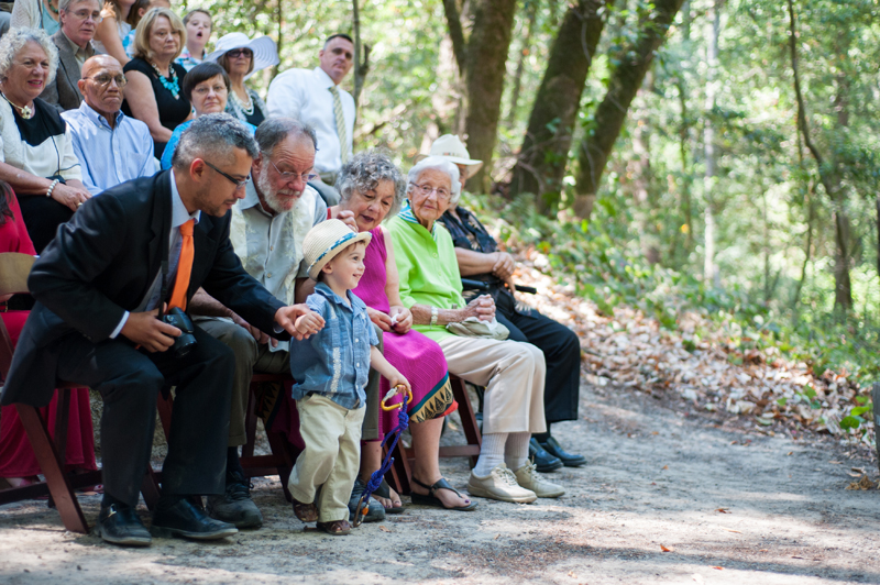 Ringbearer at Griffith Woods in Santa Rosa