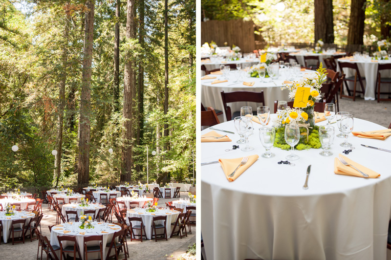 Reception space at Griffith woods