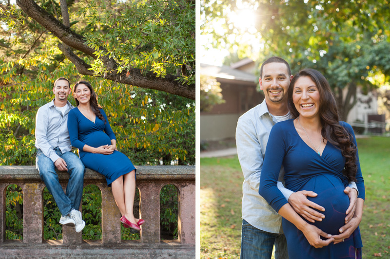 Maternity session at Live Oak Park in Berkeley