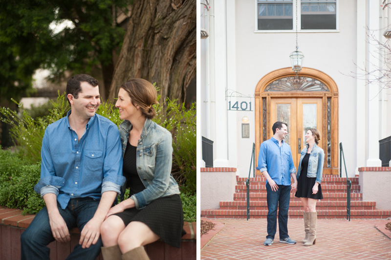 Engagement session in Burlingame