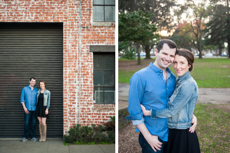 Burlingame engagement session