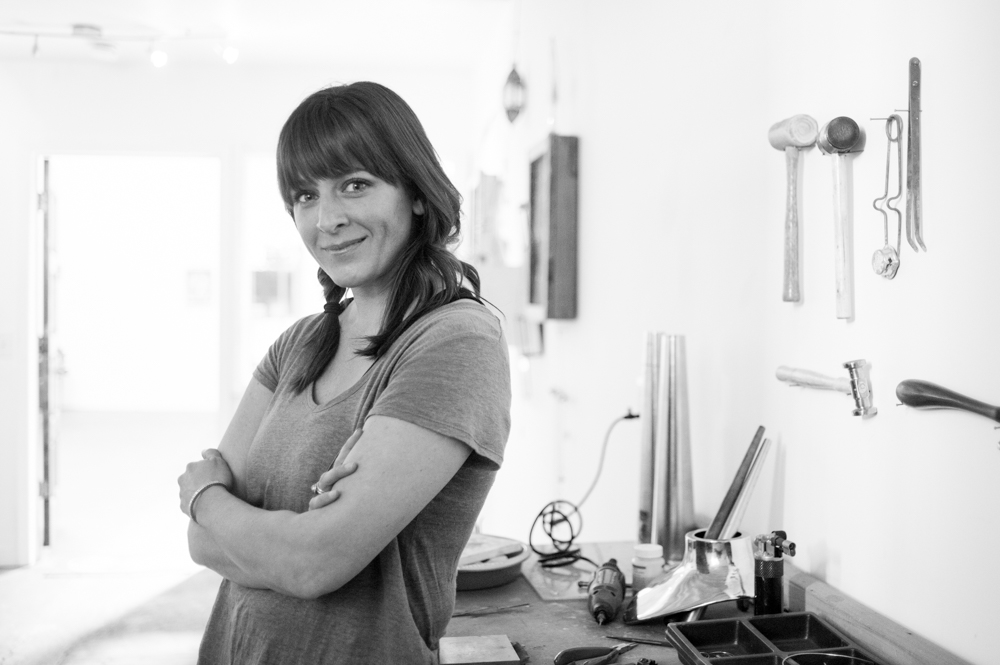 Portrait of jewelry designer Tiffany Whipps