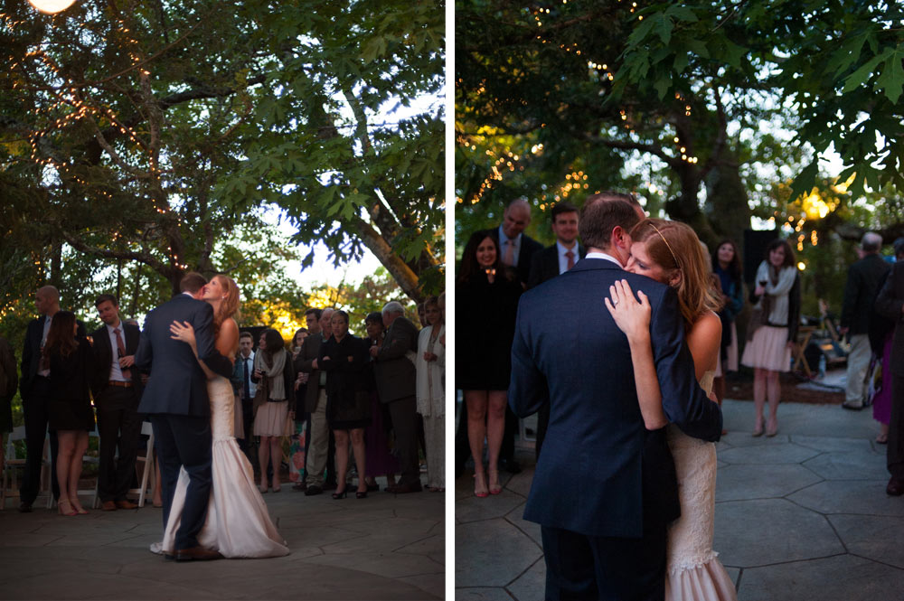 First dance at the Vine Hill House