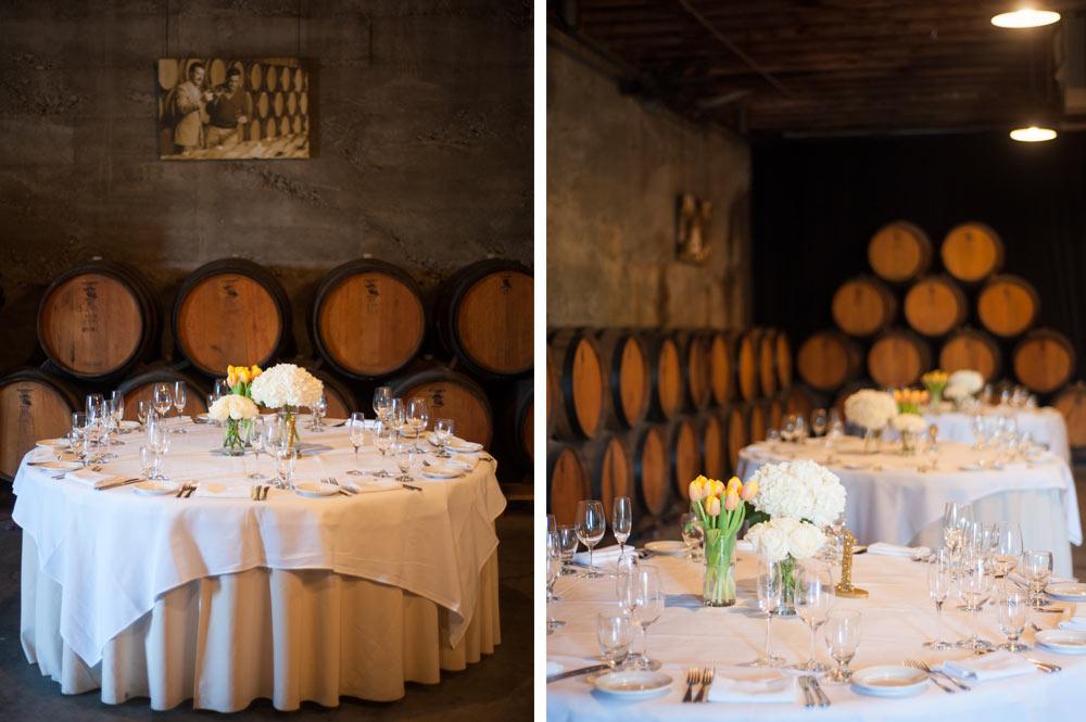 Table arraignments at Murrieta's Well
