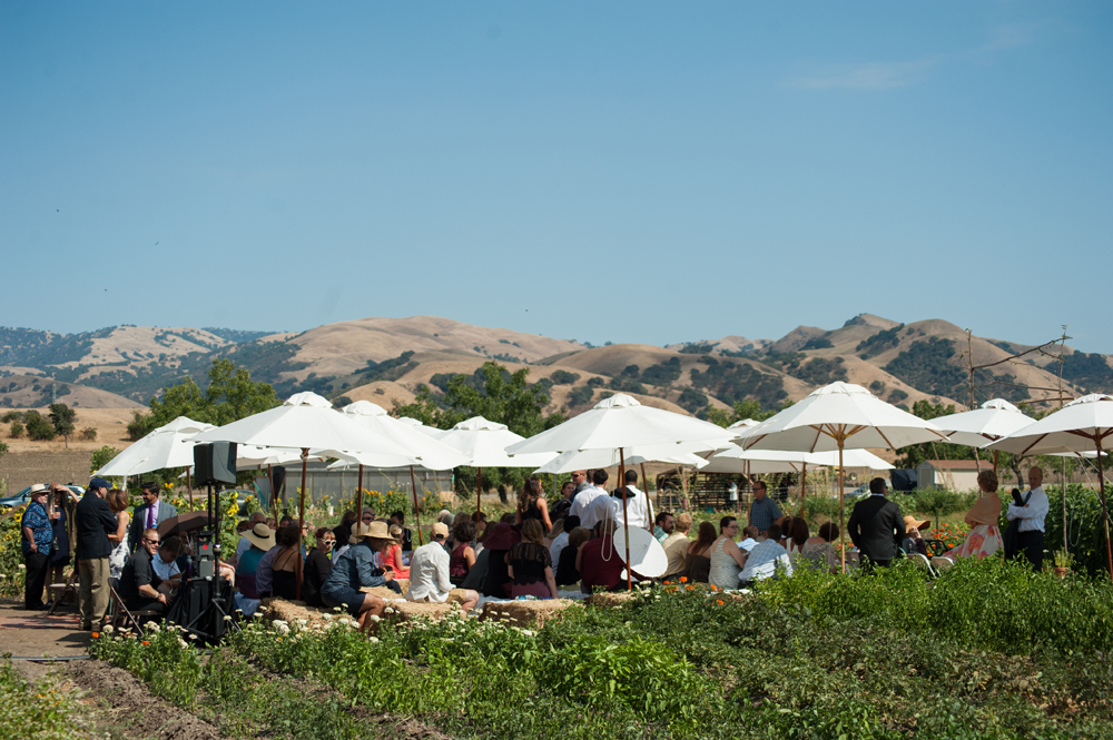 Wedding at Happy Acre Farms and Wente Vineyards