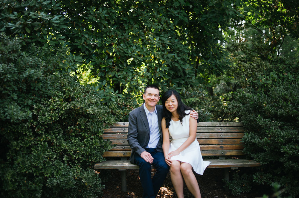 Engagement photos in the Bay Area