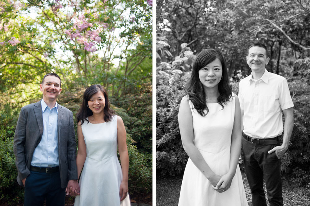 Engagement session at TIlden Botanic Garden in Berkeley