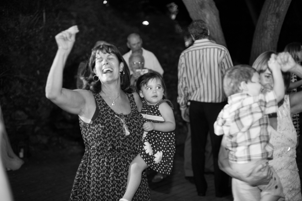 dancing at scout rock in Oakland