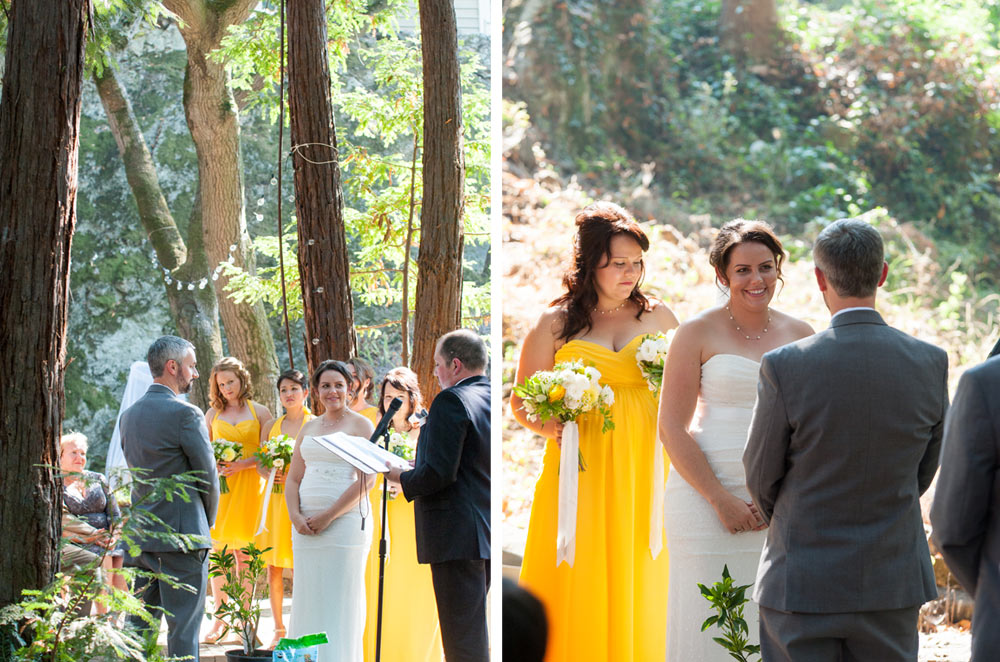Wedding at Scout Rock in Oakland