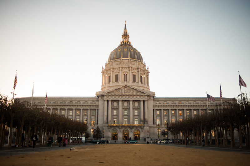 Shooting weddings at San Francisco City Hall