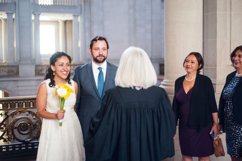 Wedding at San Francisco City Hall