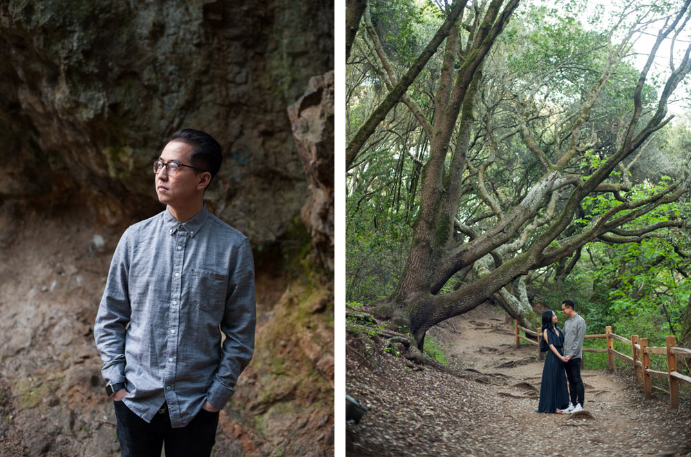Tilden park engagement session