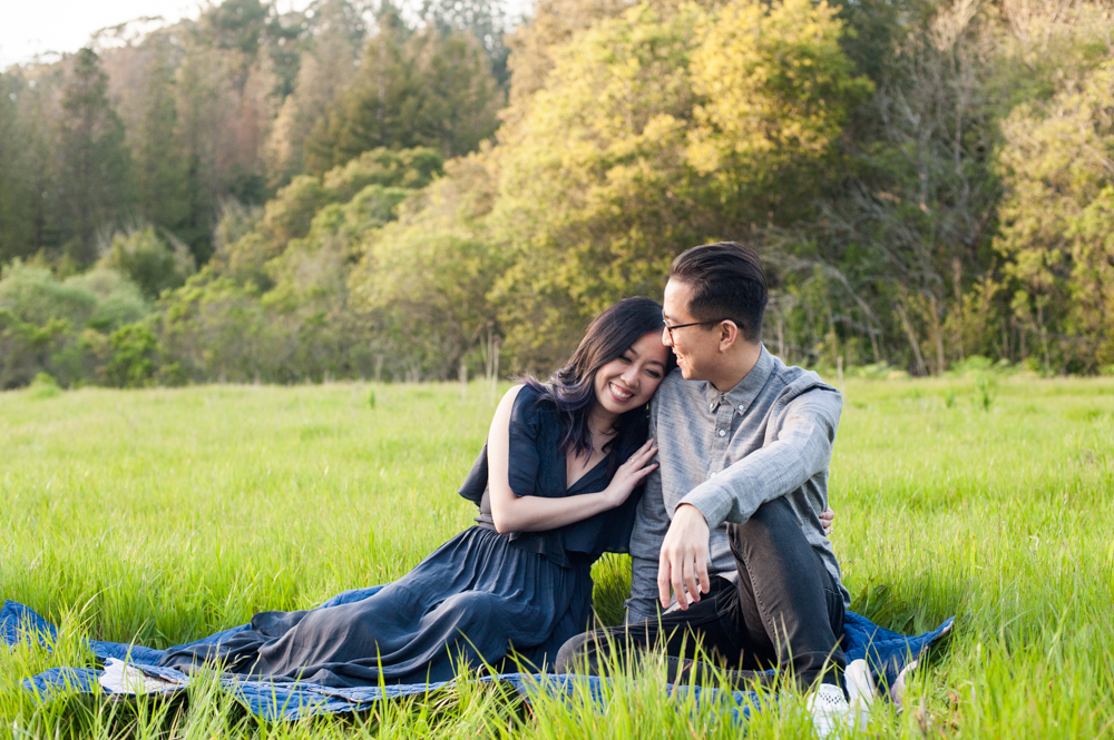 Engagement session in Tilden Park