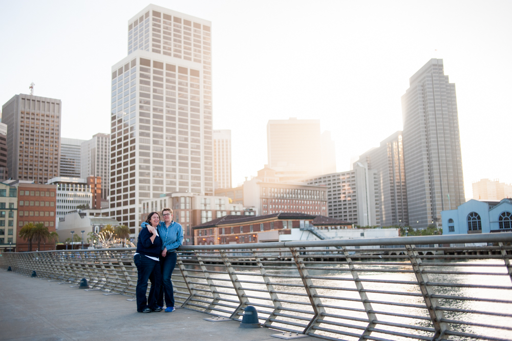 Embarcadero Engagement Photos