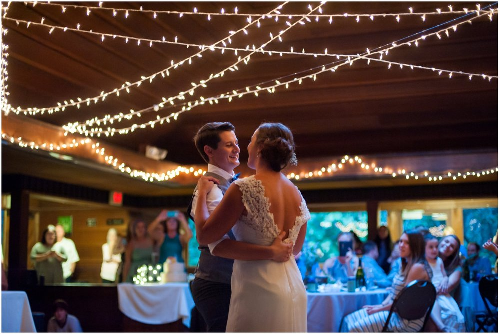First dance at Sequoia Lodge in Oakland