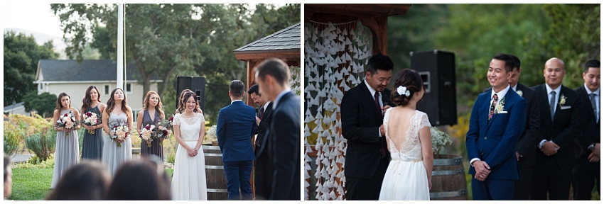 Wedding in Sunol, CA at Elliston Vineyards