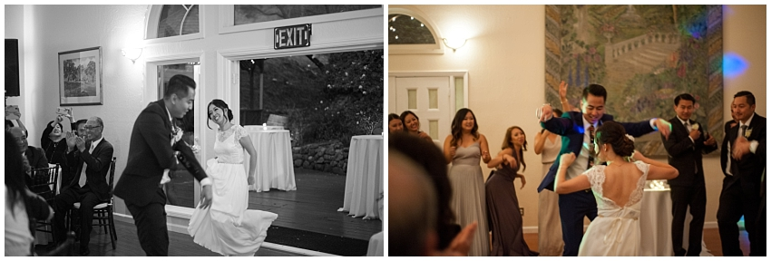 Bride and Groom first dance at wedding in Sunol, CA