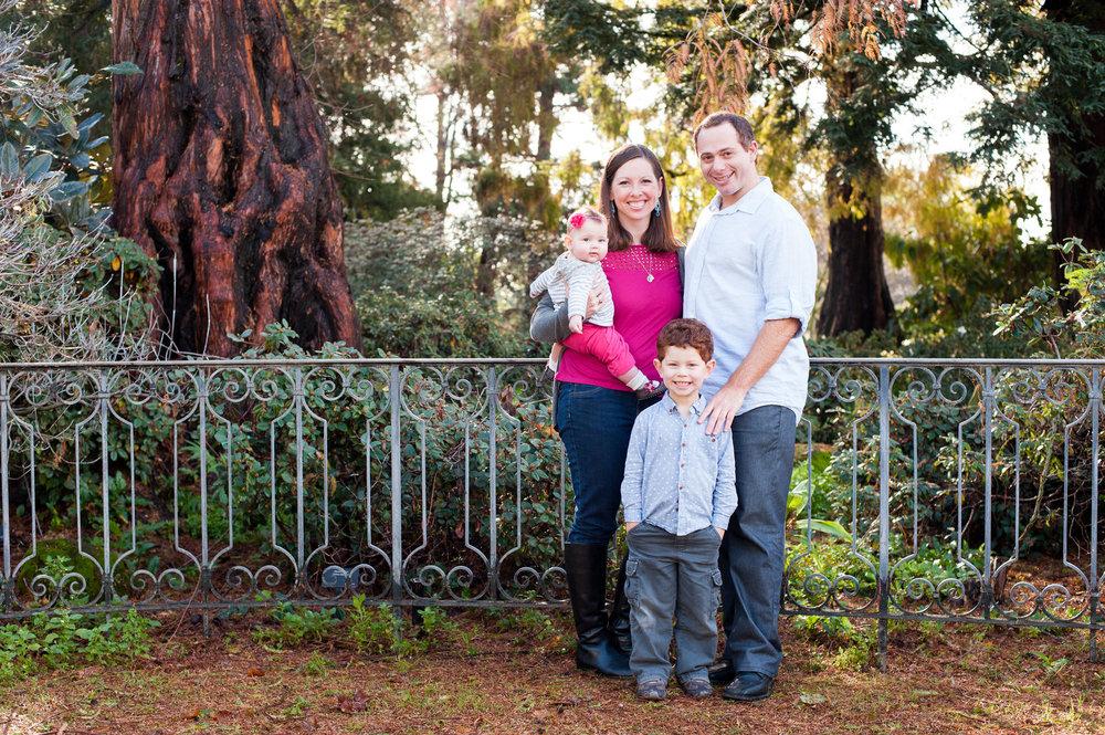 Family portrait in Oakland