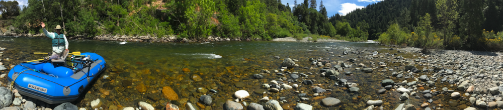Stretches of the Upper Sacramento resemble the colorful, cold clean streams of New Zealand.