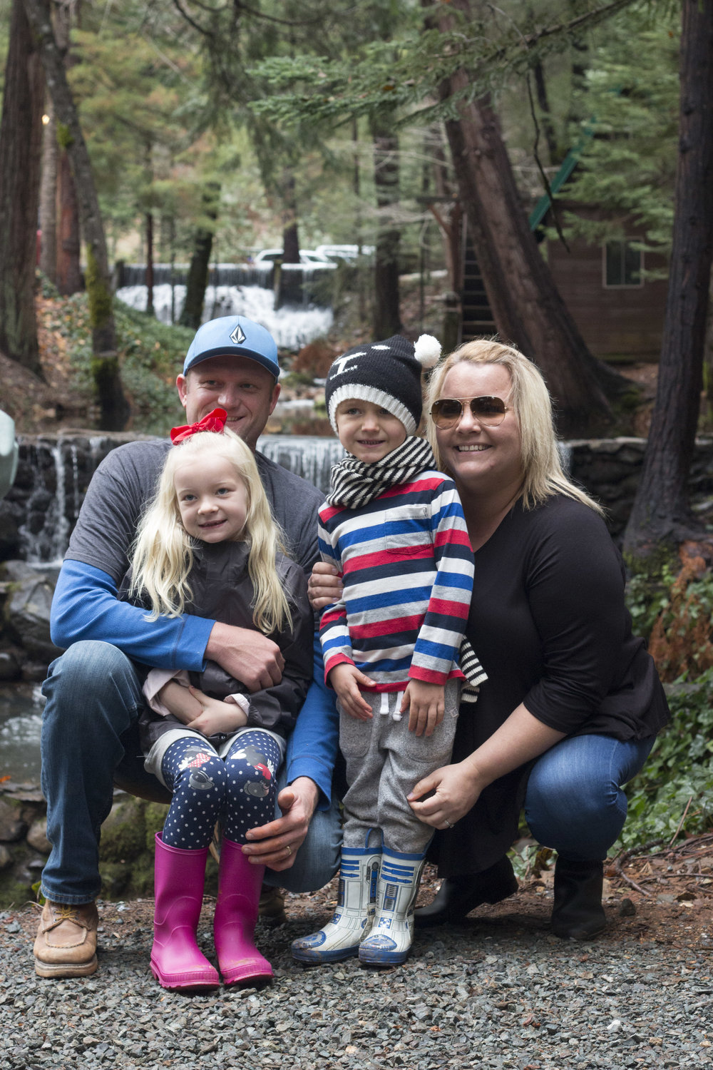 The Yates were lifelong residents of Hawthorne California and while they miss their family members down south, they are loving Placer County living.