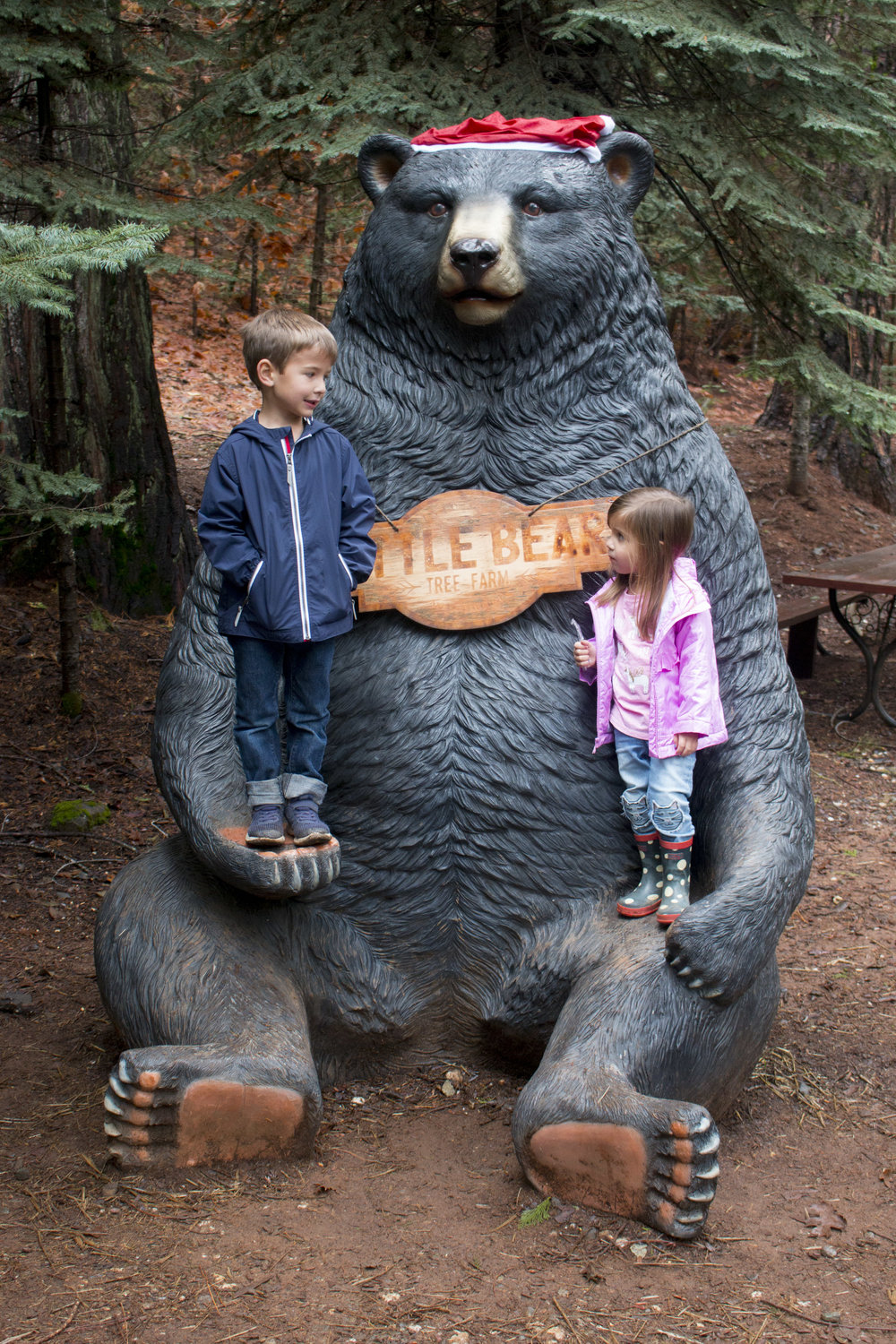 As a self proclaimed bear carving connoisseur I have to say this enormous well thought out design ranks pretty high on the list.