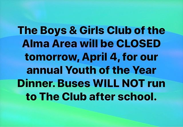 Just a reminder! #almabgc