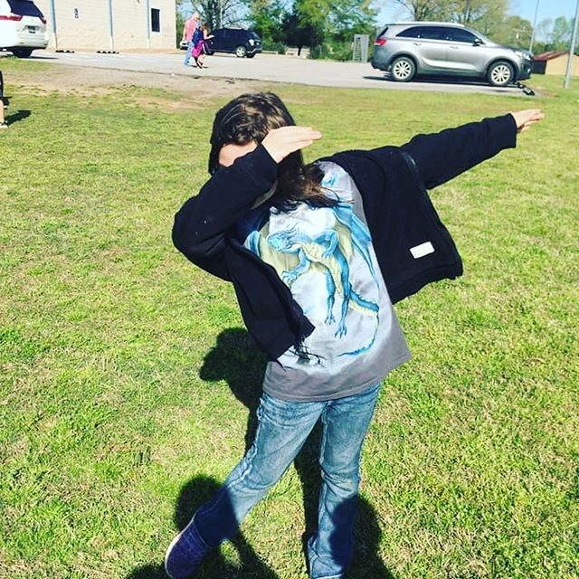 We are loving this warmer weather! The kids enjoyed their outside day yesterday! #almabgc #greatfutures