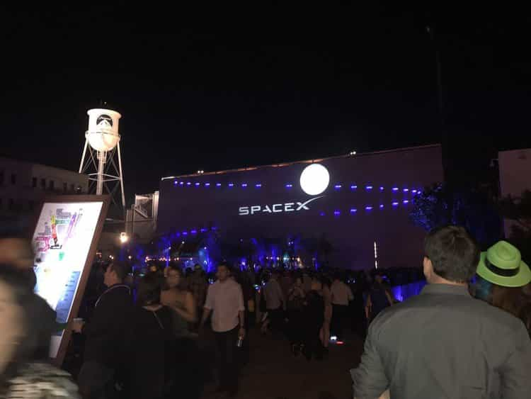 SPACEX CELEBRATION