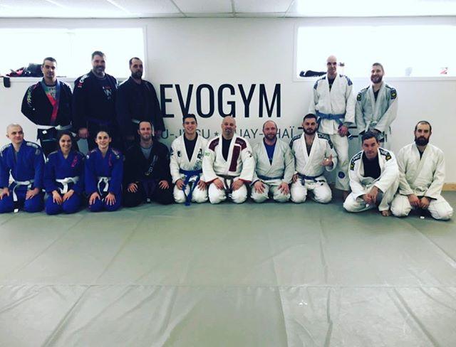 Séminaire de Element Jiu-Jitsu chez nos amis de Evogym à Rouyn! Merci guys! #marcelogarcia #drillrollhavefun