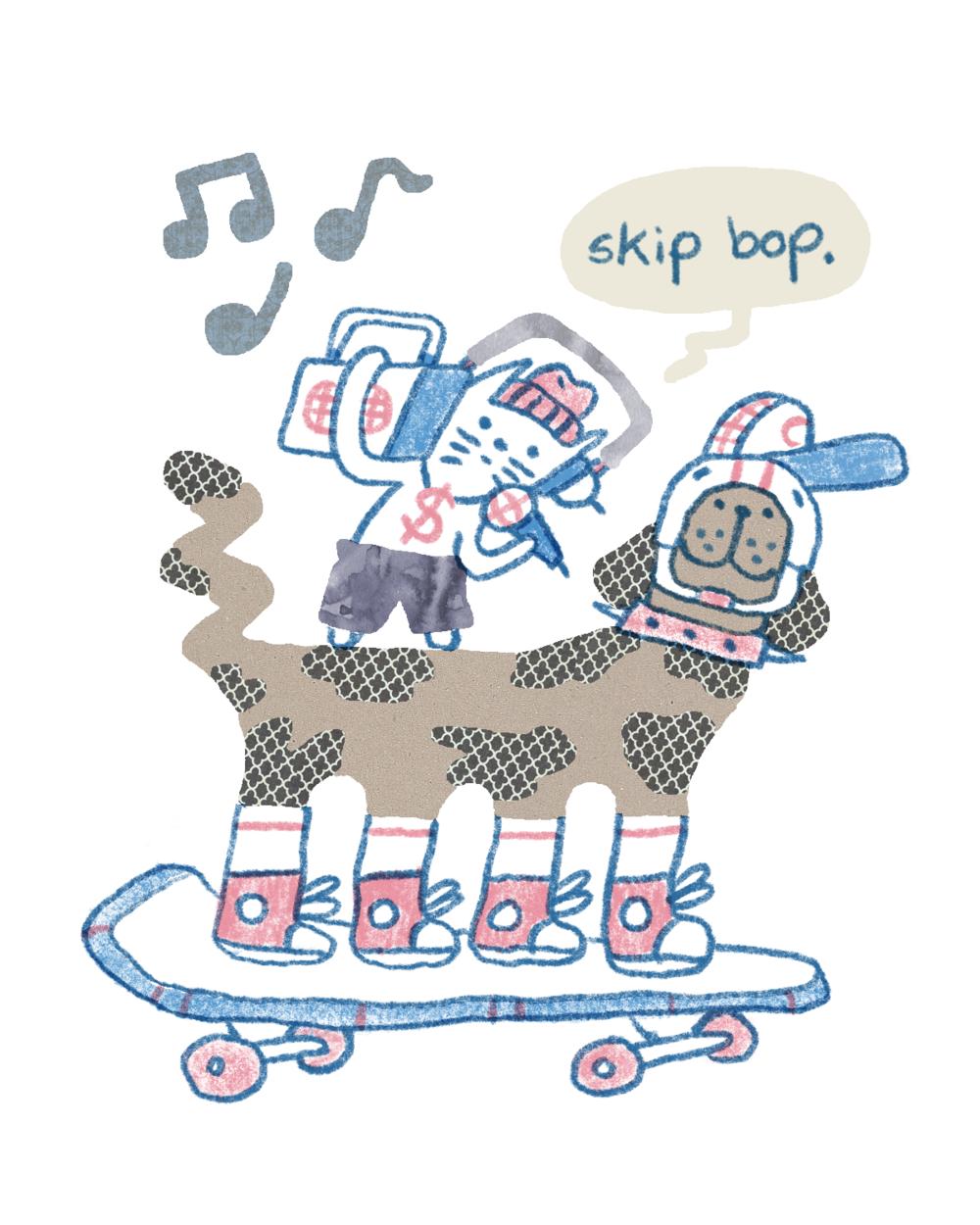 DJ K.A.T & Sk8 Dog