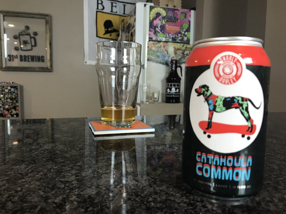 Catahoula Common 5% ABV 22 IBUs - Want to see the Video review? Click on the image.
