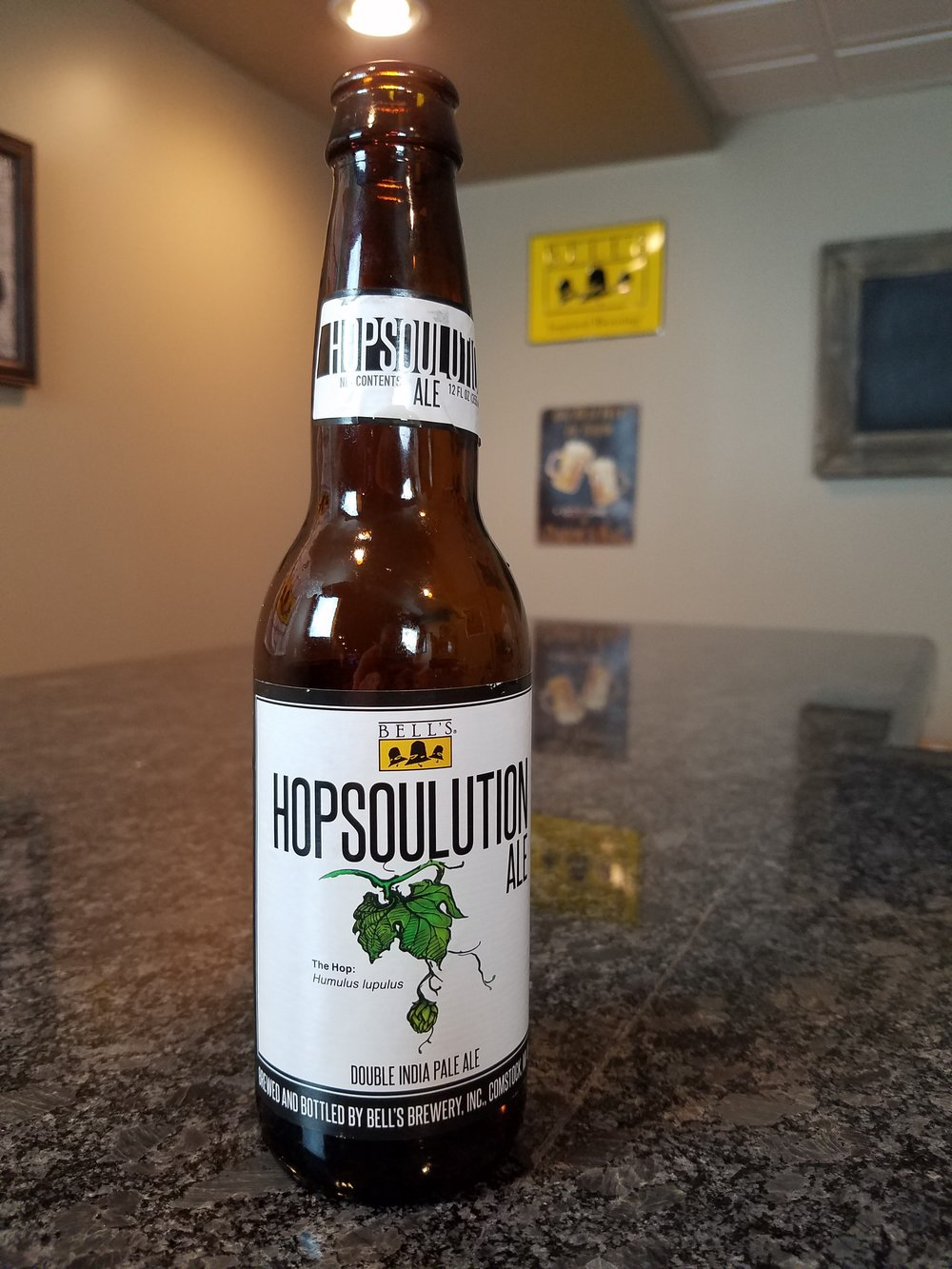 Hopsoulution 8% ABV - Want to see the Video review? Click on the image.