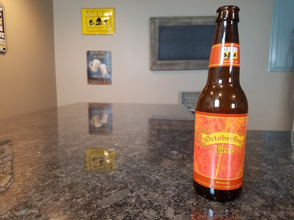 Octoberfest 5.5% ABV - Want to see the Video review? Click on the image.
