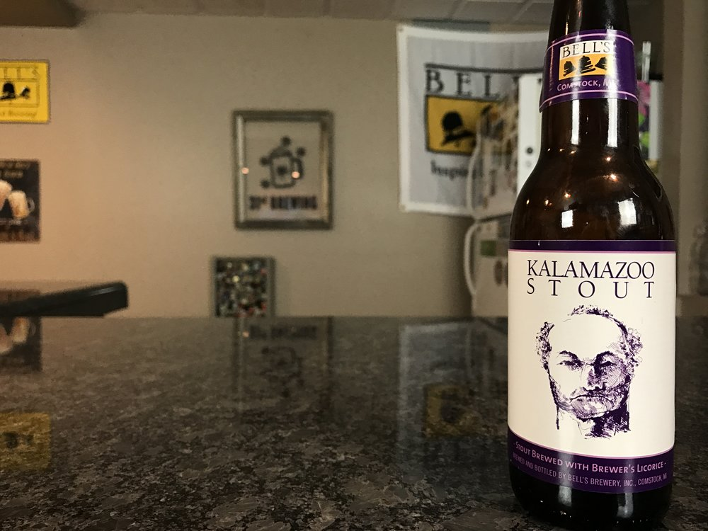 Kalamazoo Stout 6% ABV - Want to see the Video review? Click on the image.