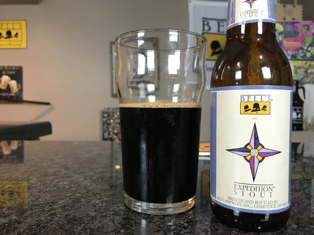 Expedition Stout 2015 10.5% ABV 78 IBUs - Want to see the Video review? Click on the image.