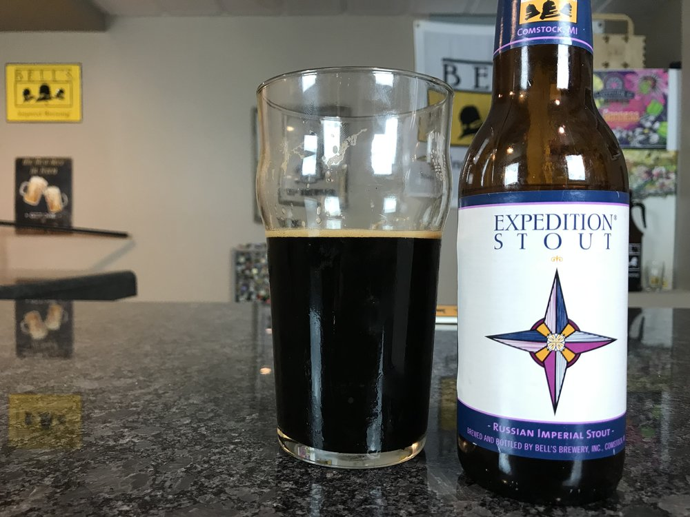 Expedition Stout 2017 10.5% ABV 78 IBUs - Want to see the Video review? Click on the image.