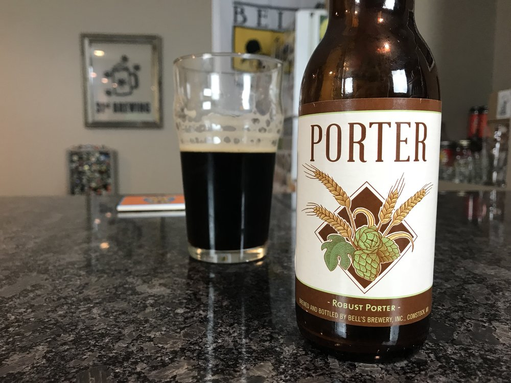 Porter 5.6% ABV - Want to see the Video review? Click on the image.