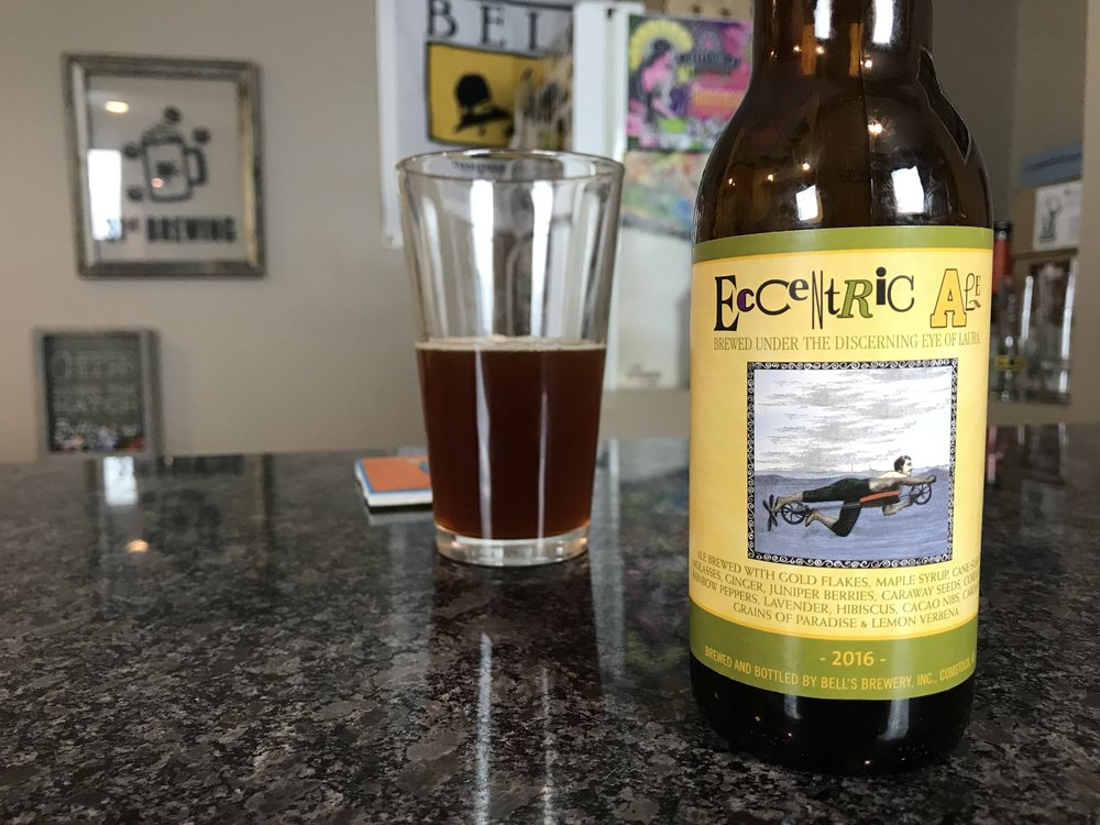 Eccentric Ale 2016 11% ABV - Want to see the Video review? Click on the image.