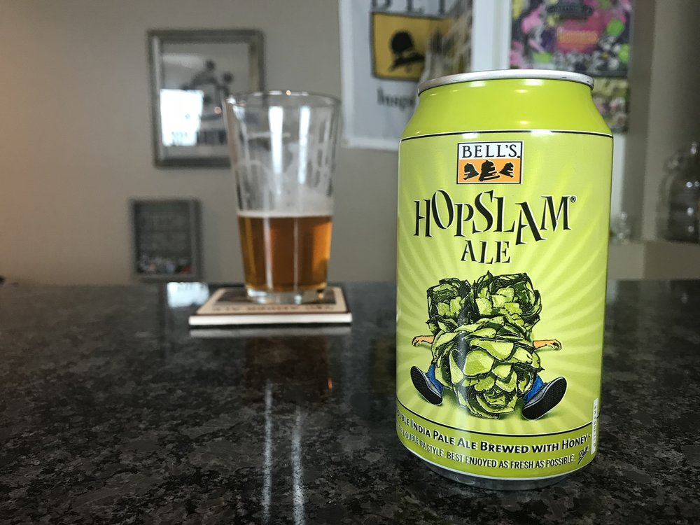 Hopslam 2018 10% ABV 70 IBUs - Want to see the Video review? Click on the image.