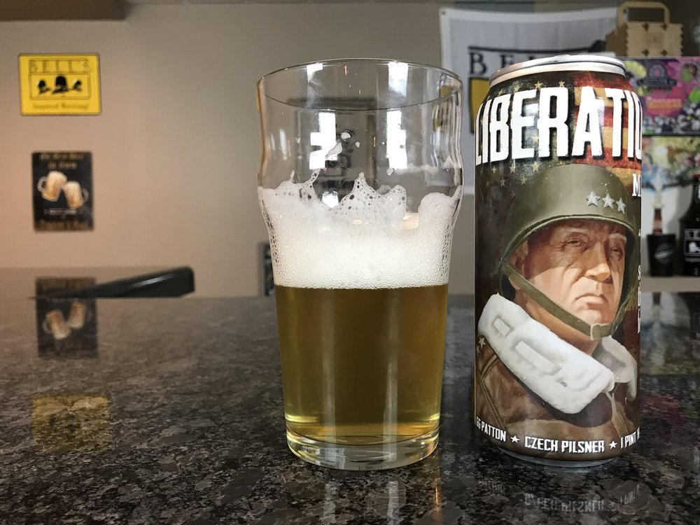 LIBERATION DAY 5% ABV  - Want to see the Video review? Click on the image.