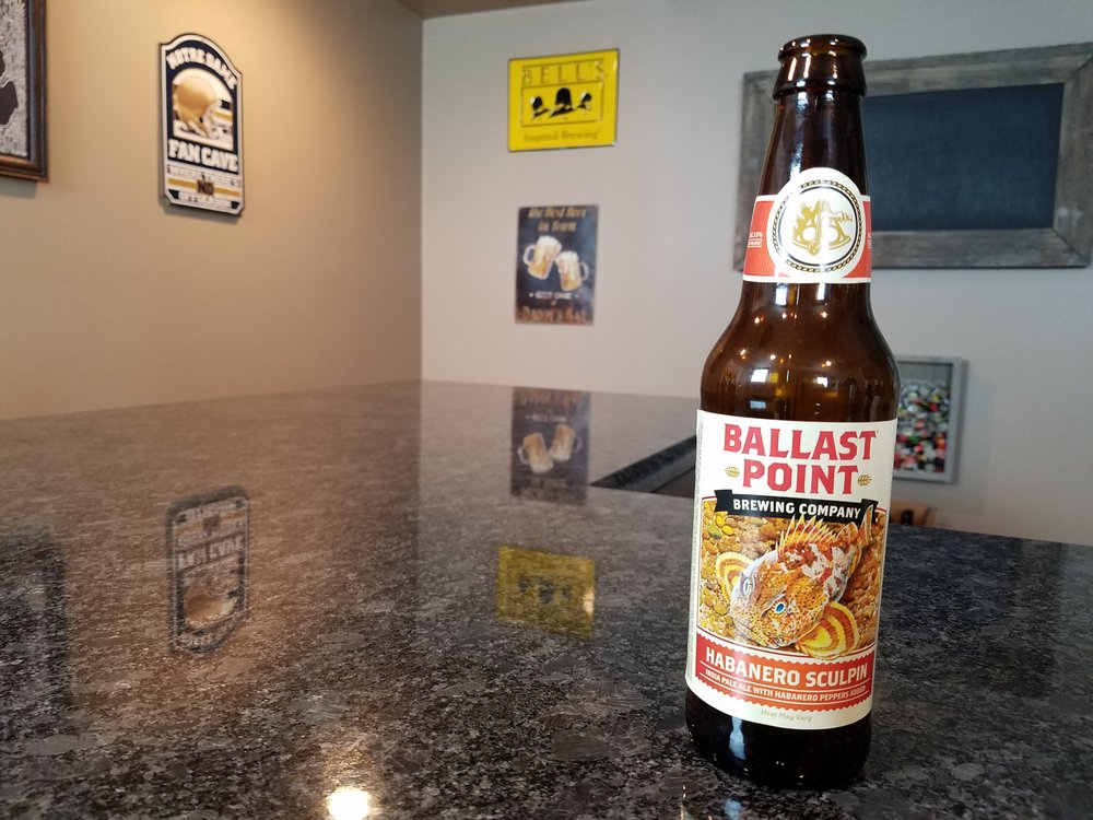 HABANERO SCULPIN 7% ABV 70 IBUS - Want to see the Video review? Click on the image.